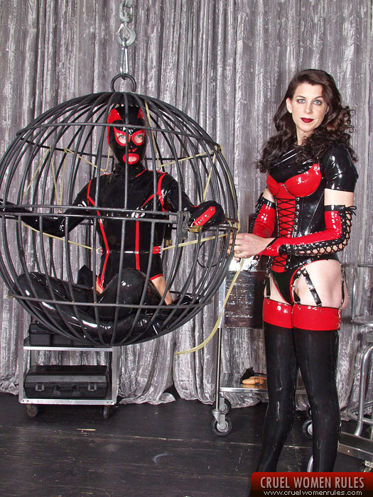 Mistress in deep